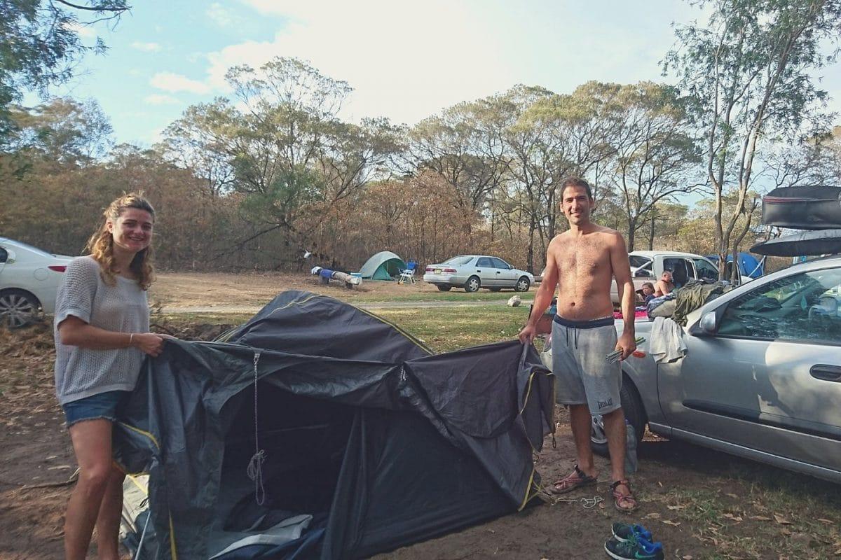 Viajar barato por Australia. Haz camping