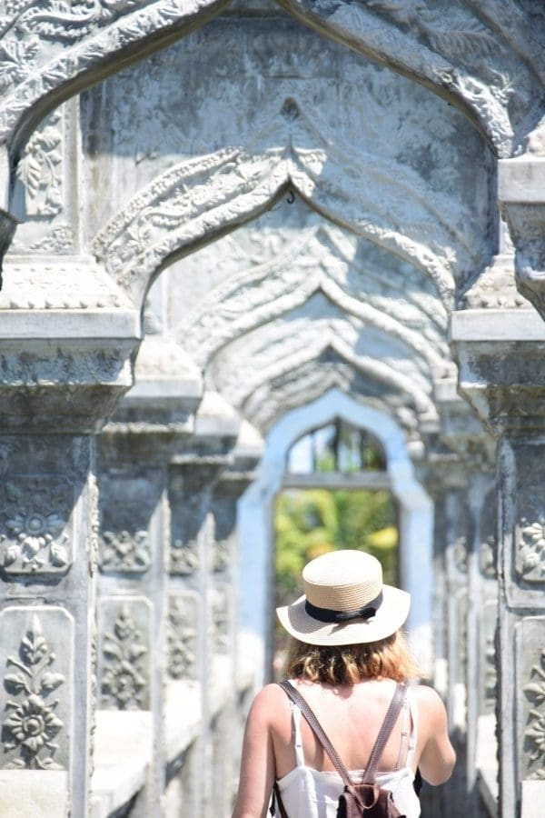 Taman Soekasada Ujung visitar bali en 10 dias