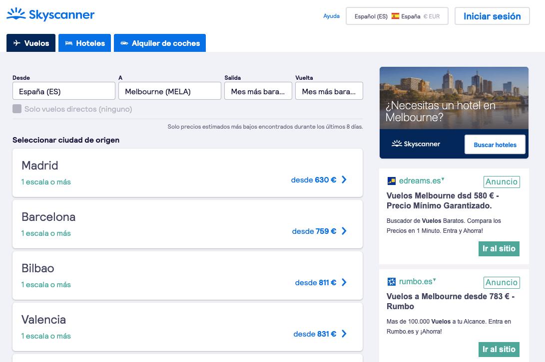 Como viajar a australia barato