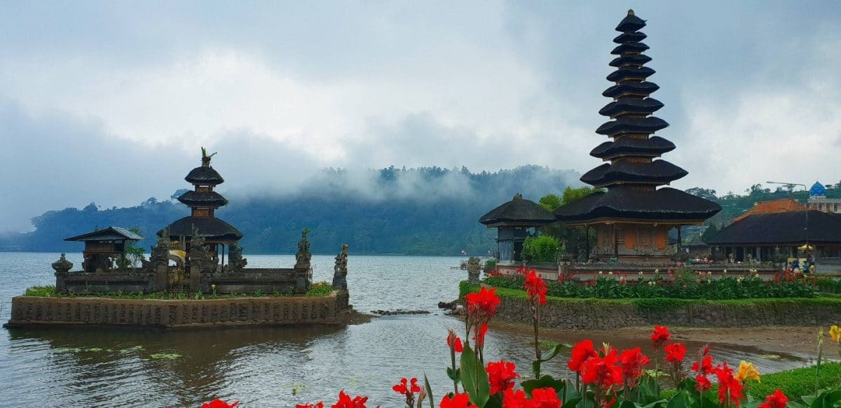 Ulun Danu Beratan Temple que ver en Bali en 10 días