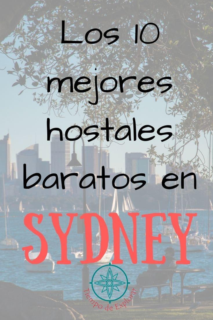 alojamiento barato en Sydney. Hostales y albergues