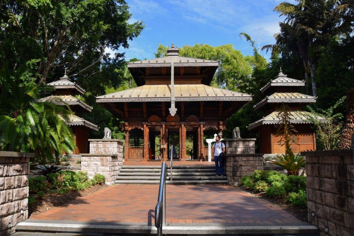 lugares para visitar en Brisbane, pagoda Nepalí