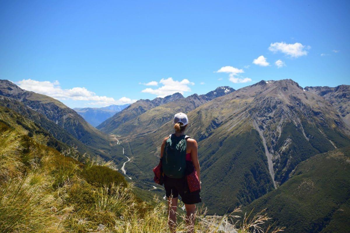 Arthur Pass Isla Sur Nueva Zelanda