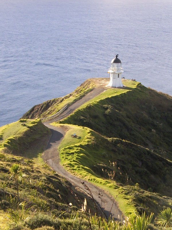 Cape Reigna faro isla norte de Nueva Zelanda