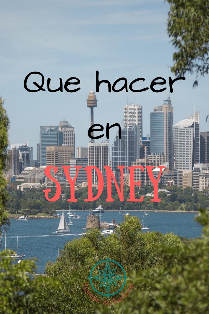 Que hacer en Sydney Australia
