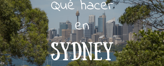 Que hacer en Sydney