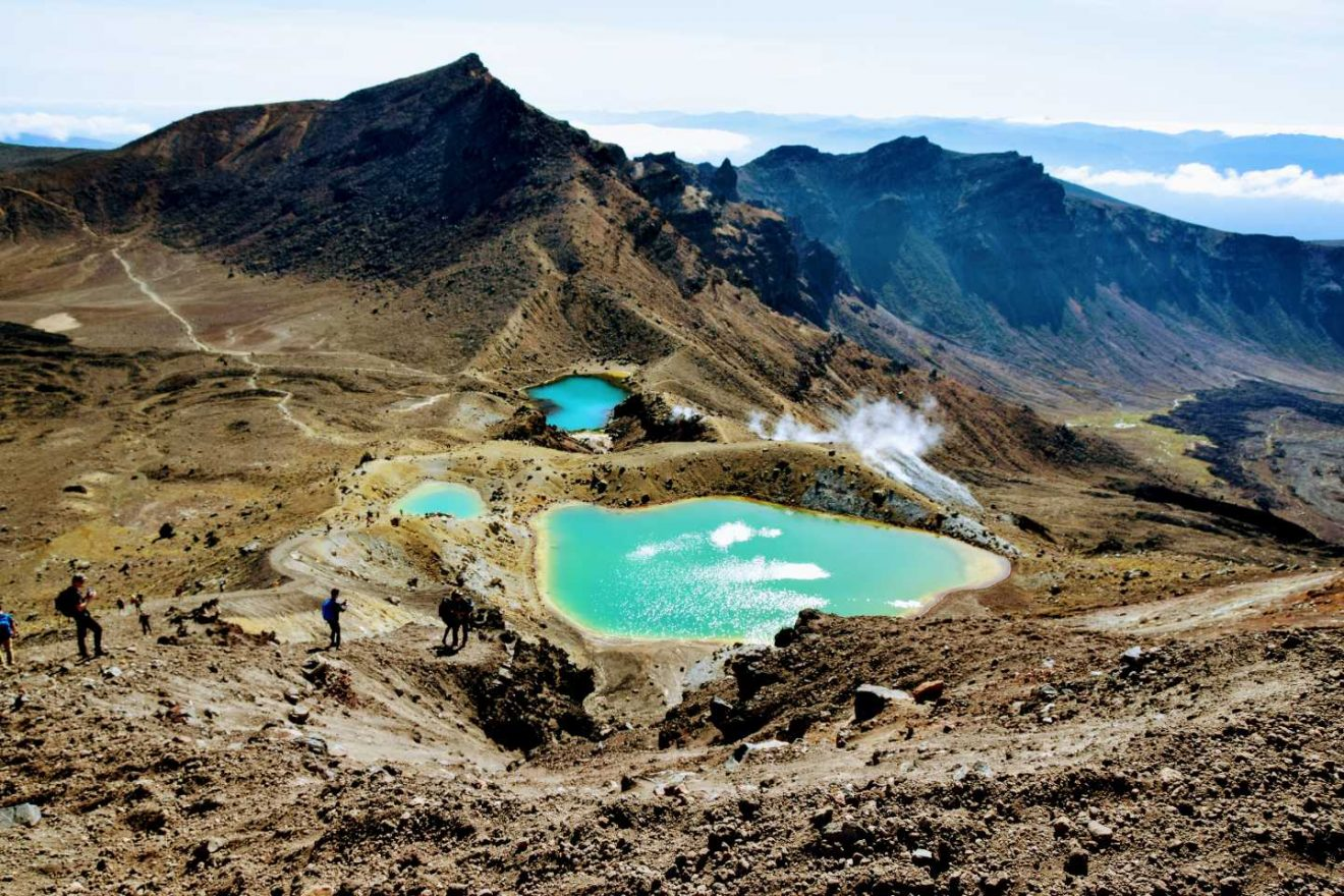 Tongariro Alpine Crossing Isla Norte NZ