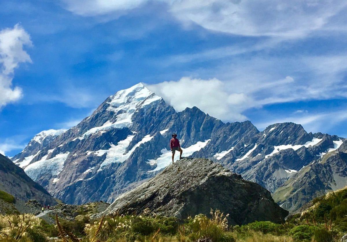 Hooker- Valley Track Isla Sur Nueva Zelanda