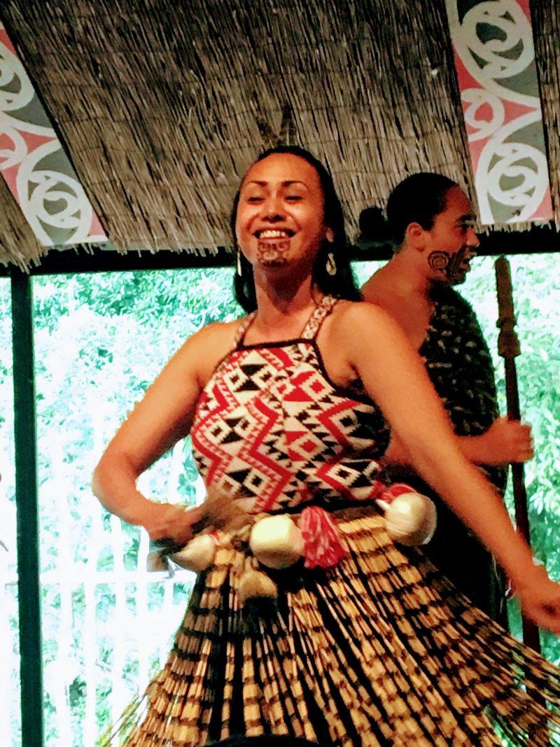 Tamaki Maori Village isla norte de Nueva Zelanda
