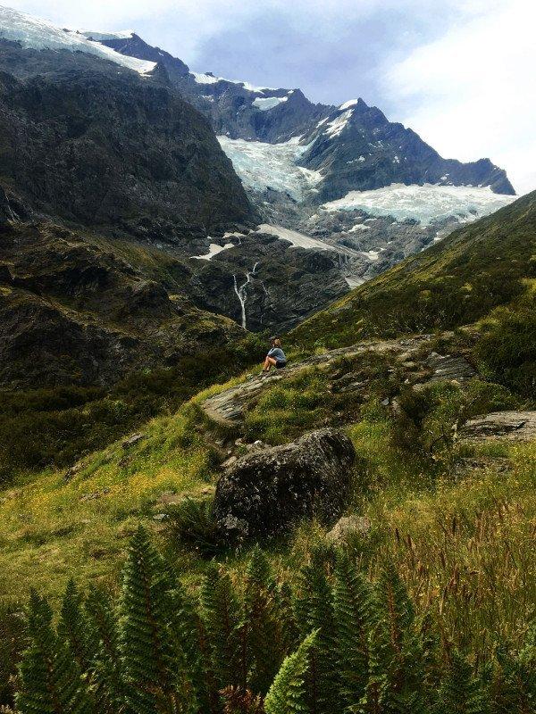 Rob Roy Glacier que visitar isla sur nueva zelanda