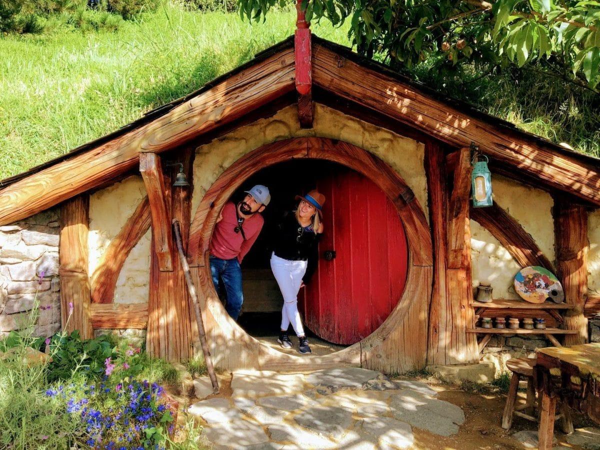 Hobbiton Isla Norte lugares de interés