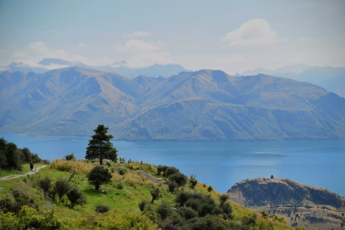 lago wanaka isla sur nueva zelanda