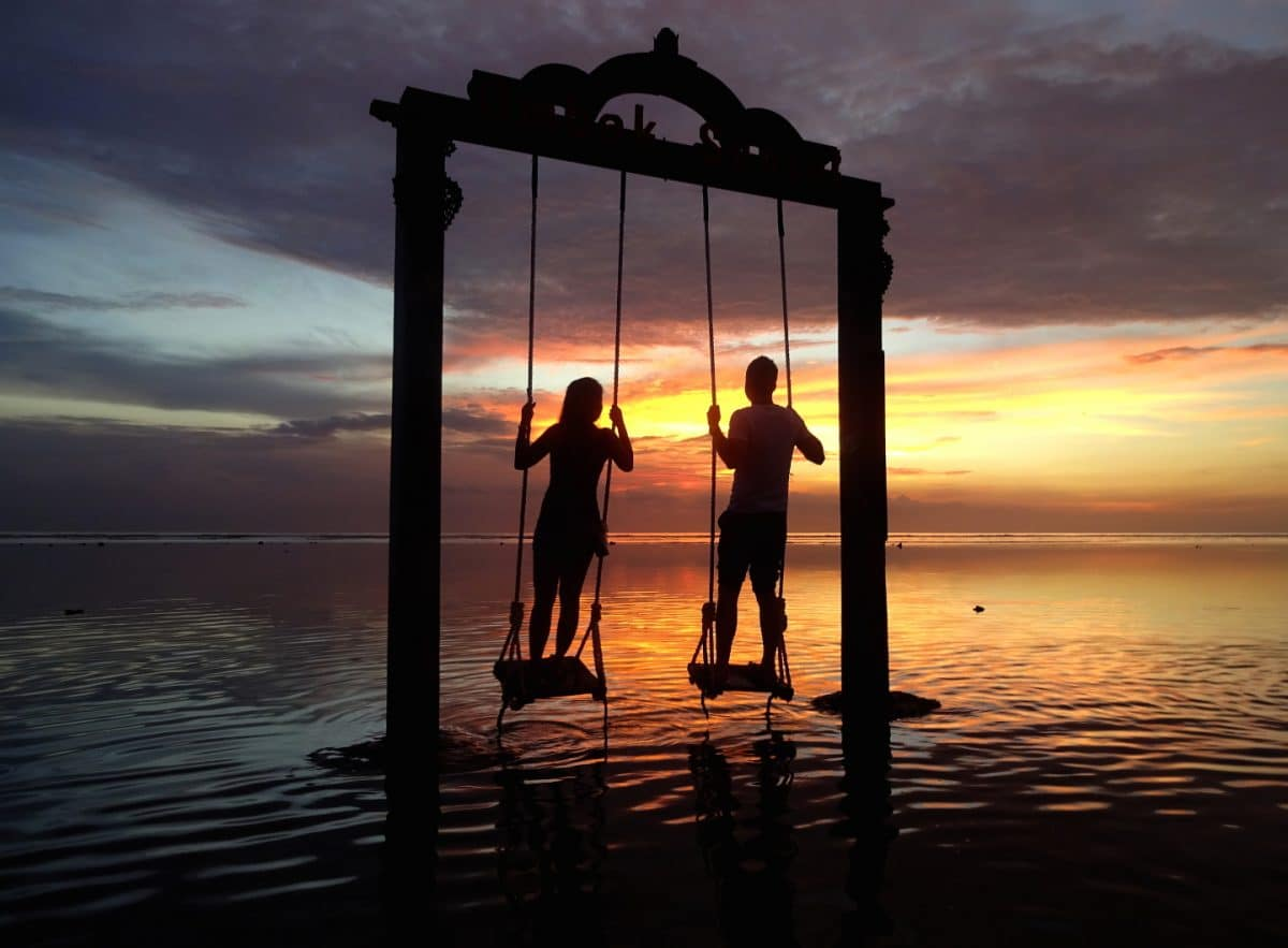 Atardecer en Gili Air Indonesia