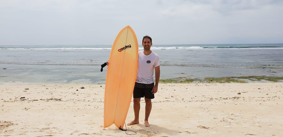 Padang Padang Beach Bali Ruta 10 días