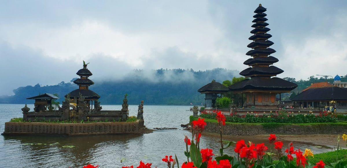 templo Ulun Danu Beratan Bali Indonesia
