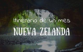 Itinerario de un mes Nueva Zelanda