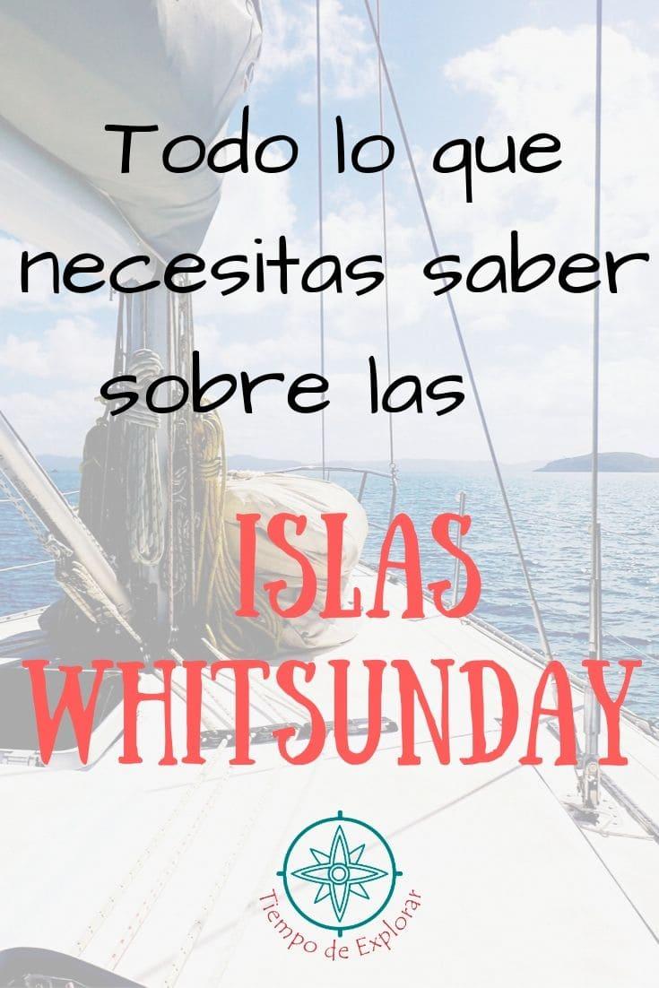 Islas Whitsudany que ver