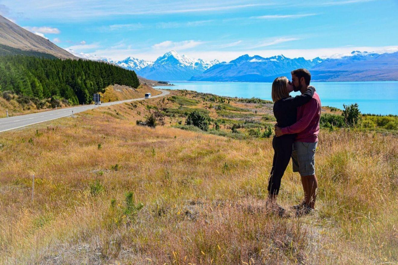 Lago Pukaki Nueva Zelanda