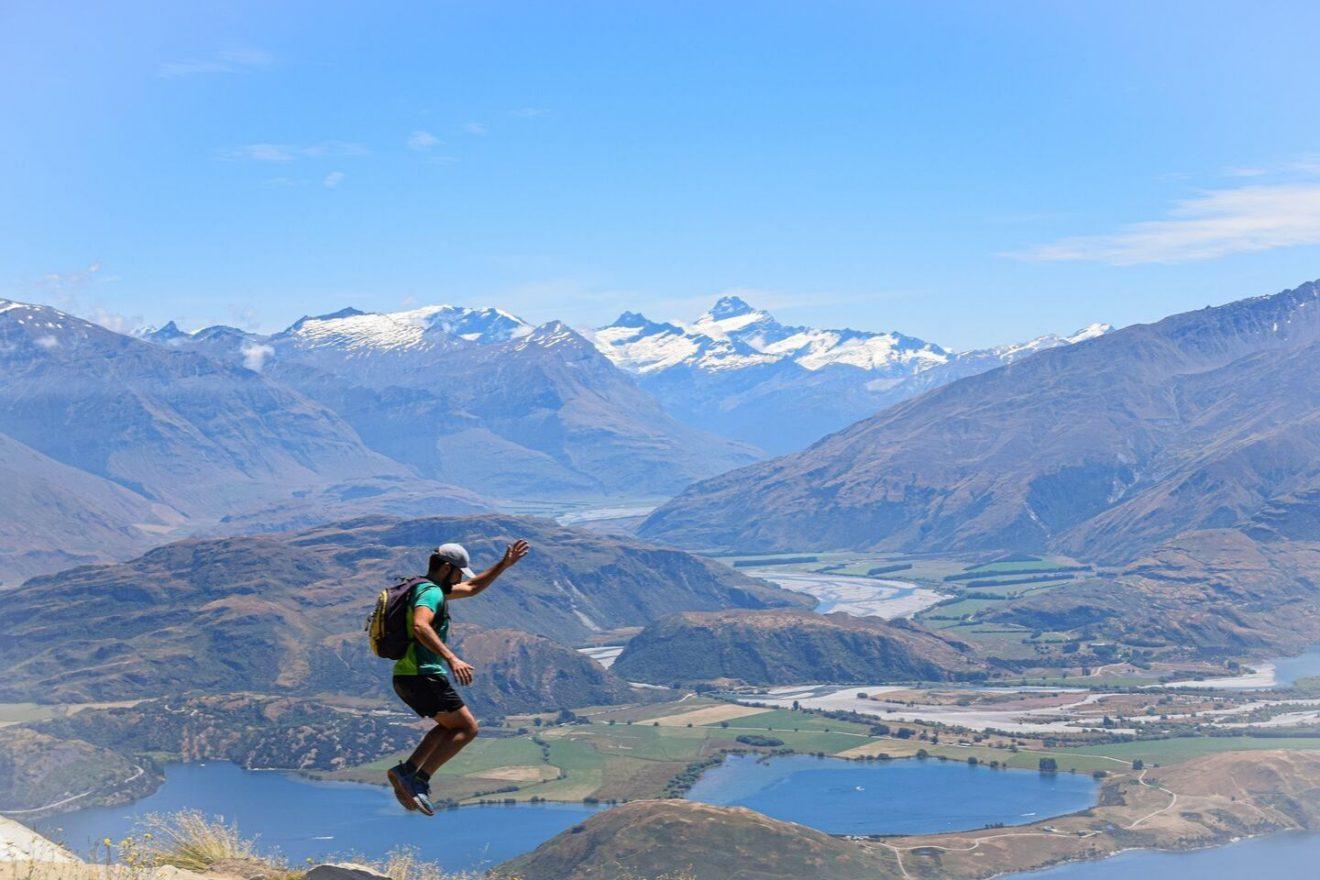 Roys Peak Track Isla Sur NZ