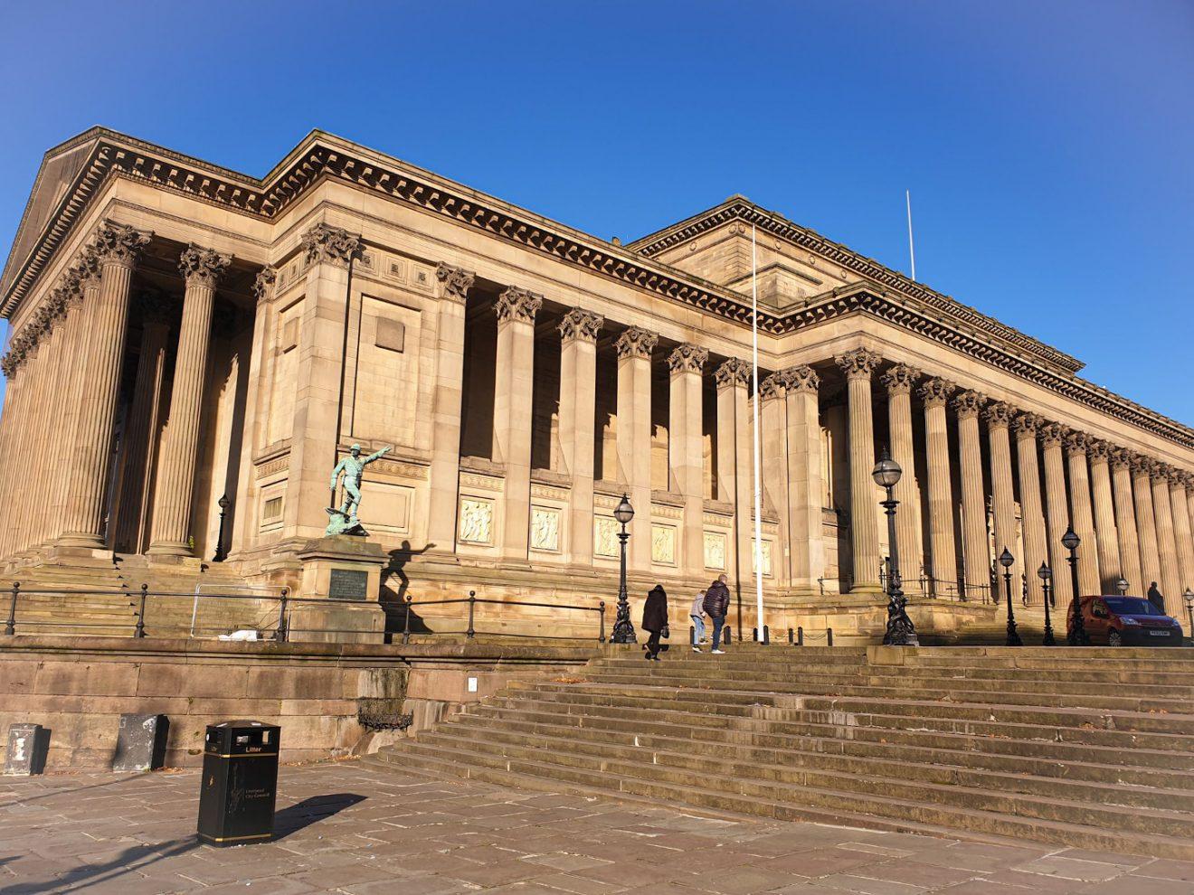 St. George Hall Lugares que ver en Liverpool