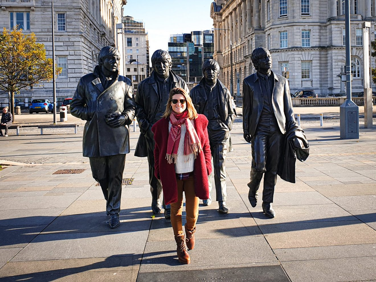 The Beatles Statue que hacer en Liverpool