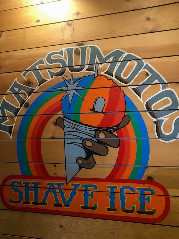 Matsumotos Shaved Ice Oahu Hawaii
