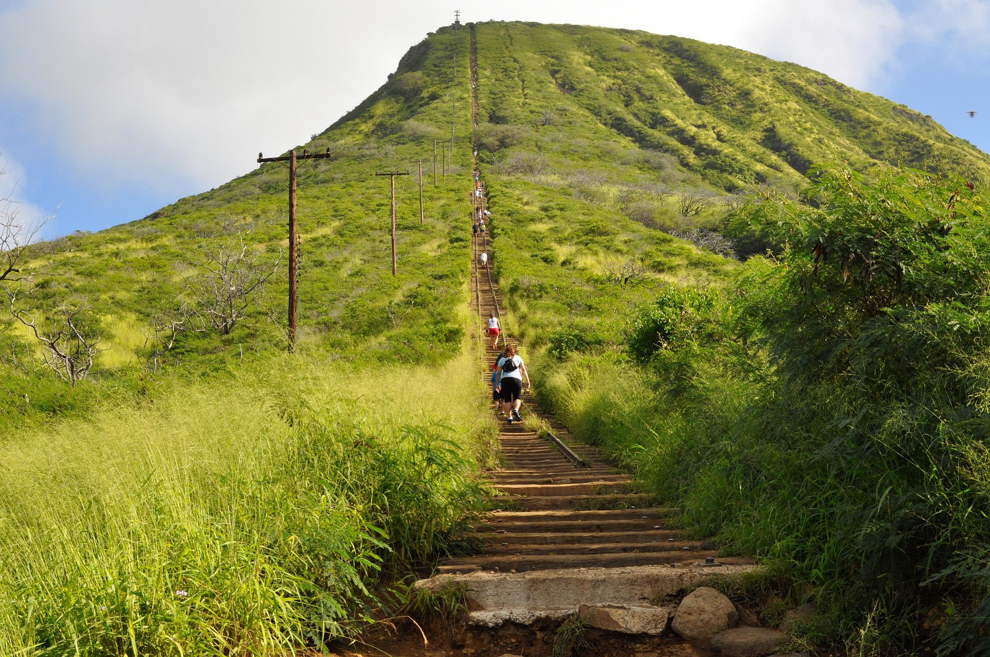 Koko Crater Trail qué hacer oahu