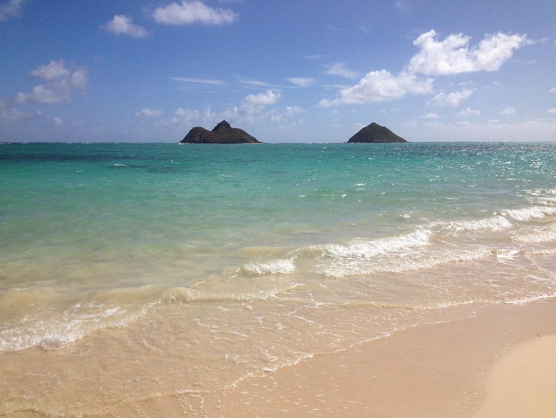Playa Lanikai Oahu Hawaii