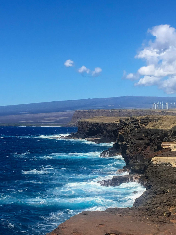 South Point Cliff Big Island Hawaii