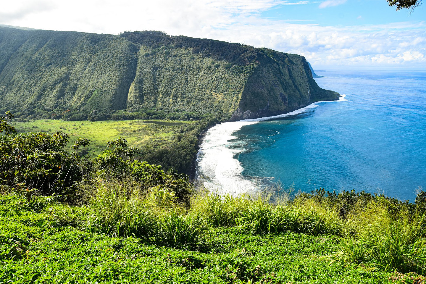 mirador de waipio Big Island Hawaii