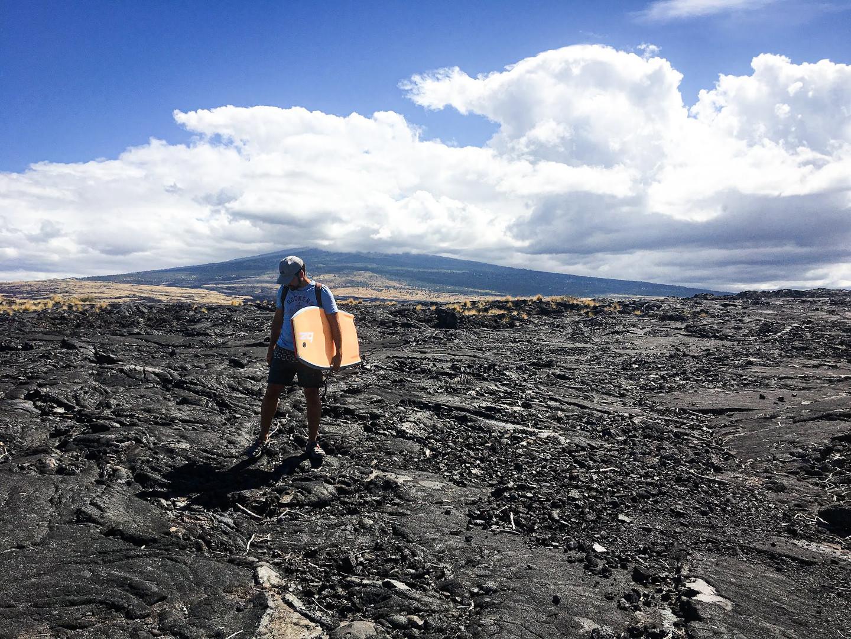 campos de lava de Big Island