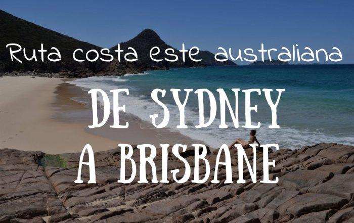 De sydney a Brisbane