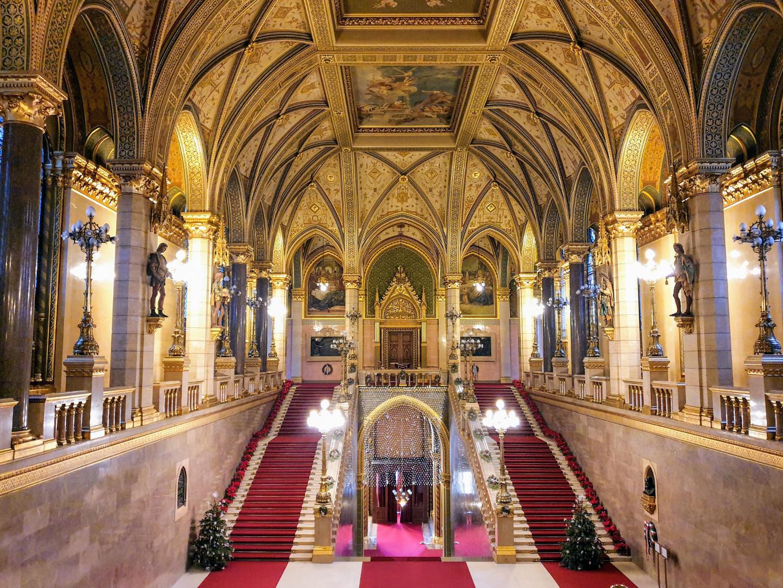 Interior Parlamento Budapest