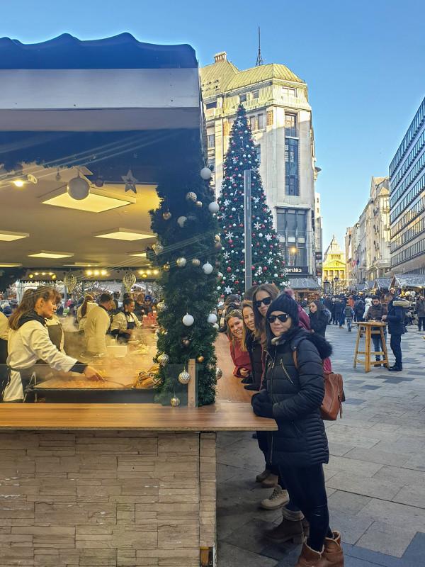 mercadillo navidad budapest