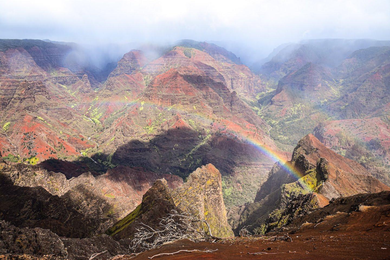 Cañon Waimea Kauai Hawaii