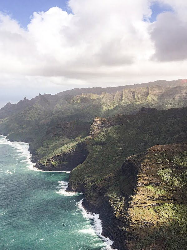 Costa Na pali Kauai Hawaii