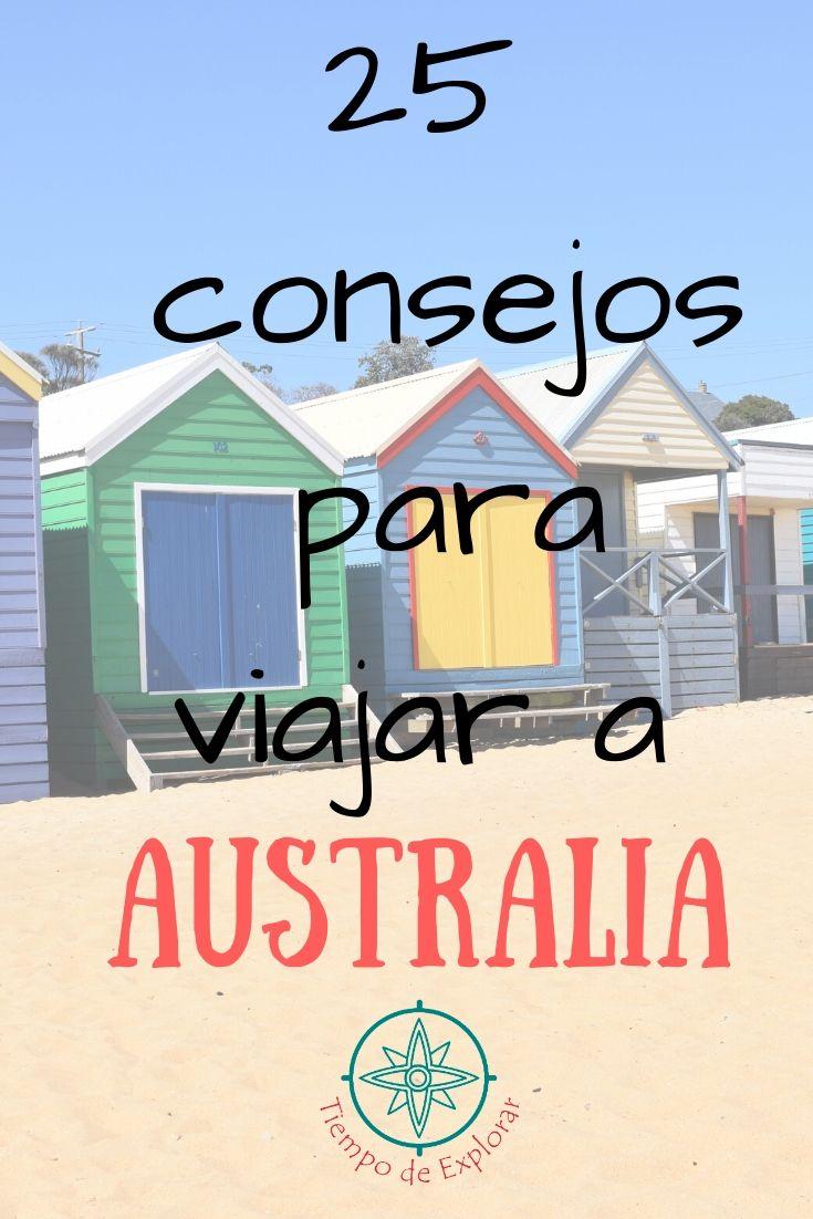 25 Consejos para viajar a Australia