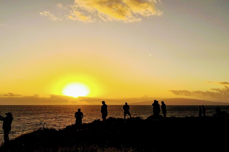 Atardecer en Maui, Hawaii