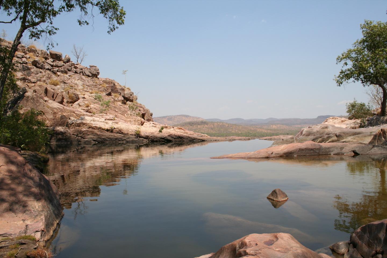 Gunlom Creek Watefall Australia lugares desconocidos que visitar en Australia