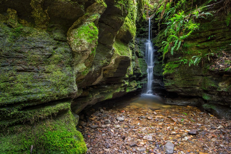 Secret Falls Tasmania, Australia