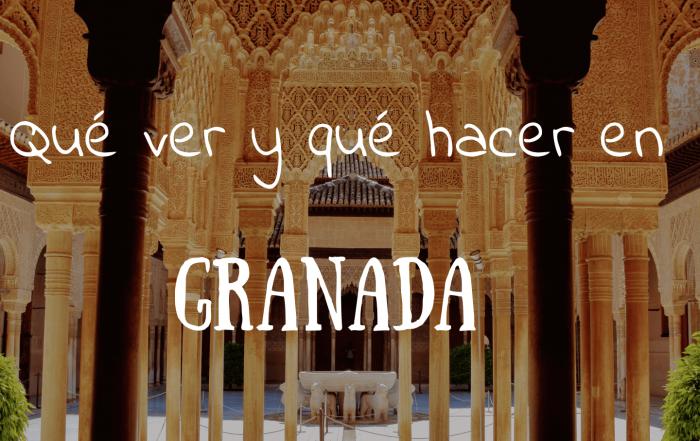 Que ver y que hacer en Granada