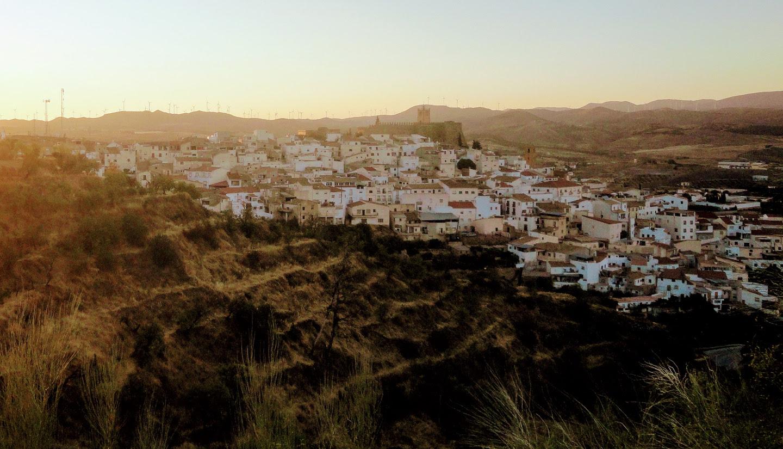 Atardecer pueblo de Serón Almería