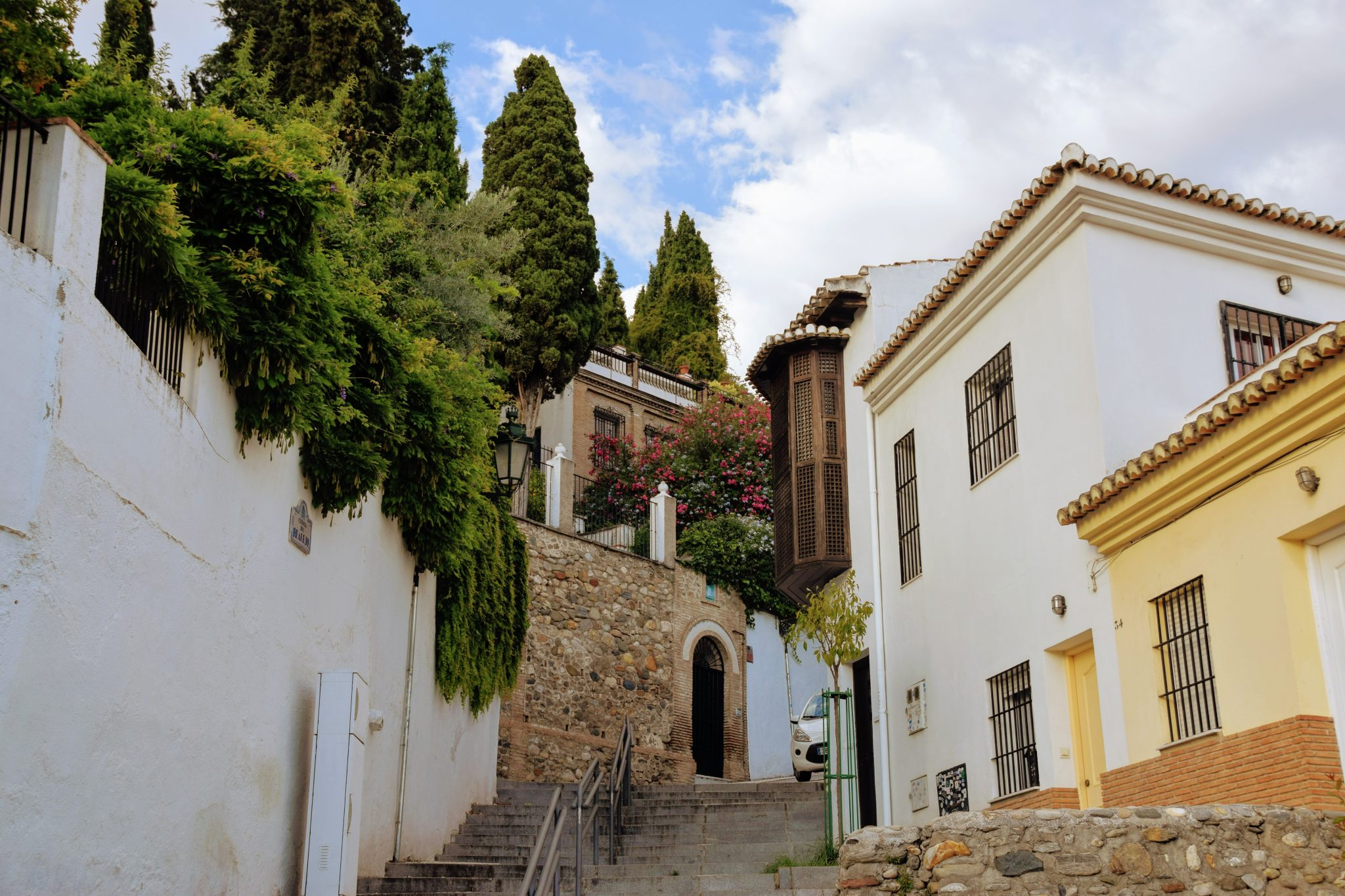 Barrio del Realejo en Granada