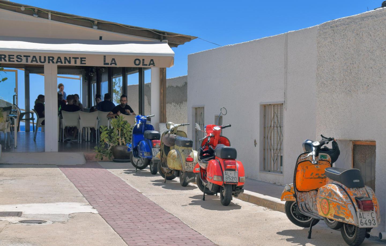 restaurante la ola Cabo de Gata
